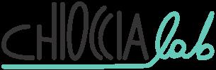 Il testo del logo di ChiocciaLab